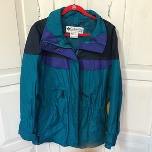 Vintage Columbia Color Block Jacket